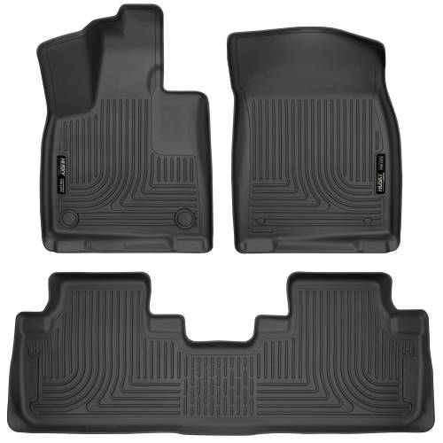 Husky Liners - Husky Liners 99651 WeatherBeater Front and Rear Floor Liner Set