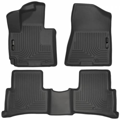 Husky Liners - Husky Liners 99681 WeatherBeater Front and Rear Floor Liner Set