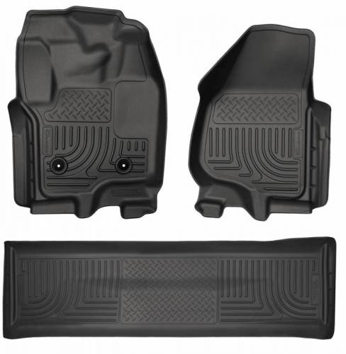 Husky Liners - Husky Liners 99711 WeatherBeater Front and Rear Floor Liner Set