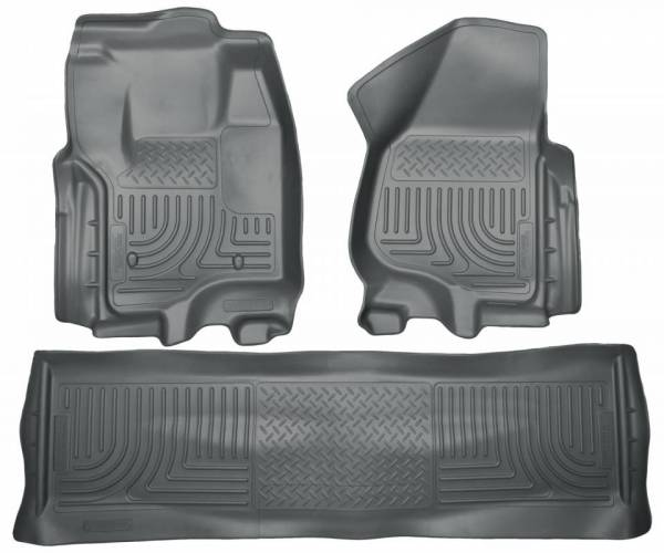 Husky Liners - Husky Liners 99712 WeatherBeater Front and Rear Floor Liner Set