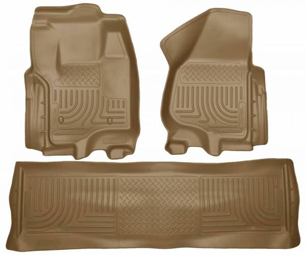 Husky Liners - Husky Liners 99713 WeatherBeater Front and Rear Floor Liner Set