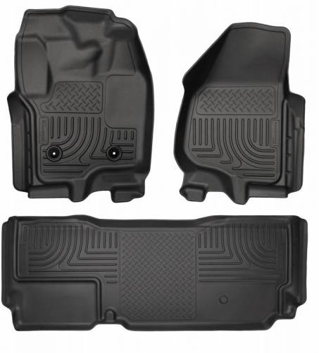 Husky Liners - Husky Liners 99721 WeatherBeater Front and Rear Floor Liner Set