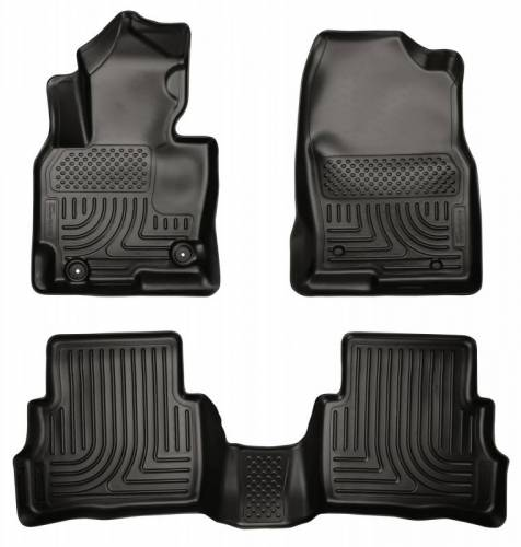 Husky Liners - Husky Liners 99731 WeatherBeater Front and Rear Floor Liner Set