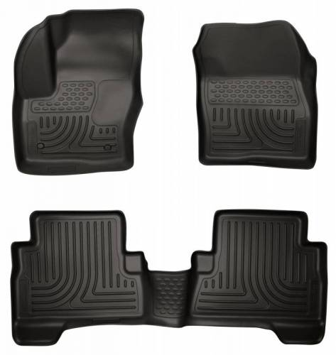 Husky Liners - Husky Liners 99741 WeatherBeater Front and Rear Floor Liner Set