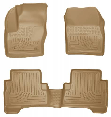 Husky Liners - Husky Liners 99743 WeatherBeater Front and Rear Floor Liner Set