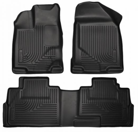 Husky Liners - Husky Liners 99761 WeatherBeater Front and Rear Floor Liner Set