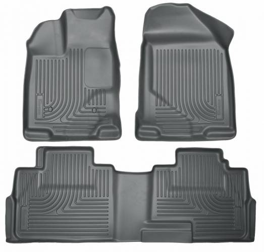 Husky Liners - Husky Liners 99762 WeatherBeater Front and Rear Floor Liner Set