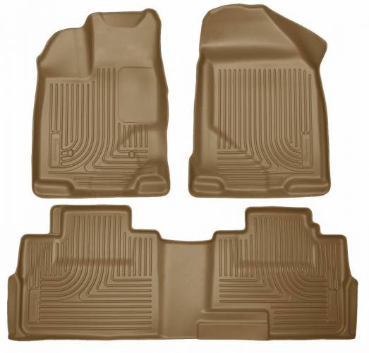 Husky Liners - Husky Liners 99763 WeatherBeater Front and Rear Floor Liner Set