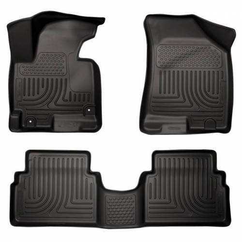 Husky Liners - Husky Liners 99831 WeatherBeater Front and Rear Floor Liner Set