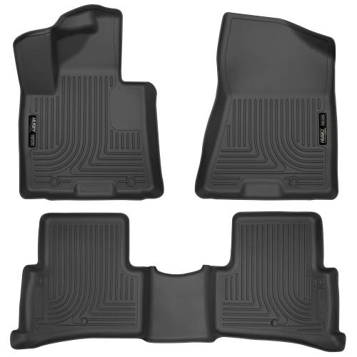 Husky Liners - Husky Liners 99891 WeatherBeater Front and Rear Floor Liner Set