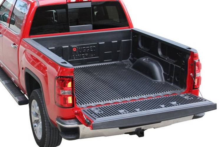 truck liner rail mats over the coatings custom liners bed fit