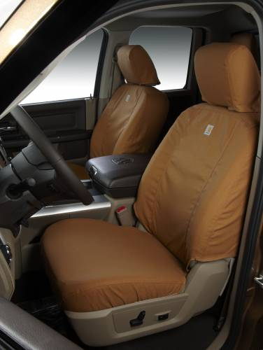 Covercraft - Covercraft Carhartt SeatSaver Front Row - Carhartt Brown