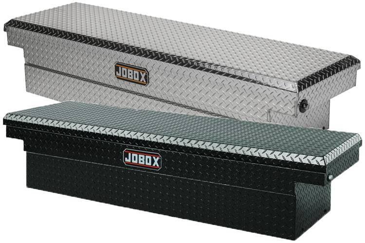 JoBox - JoBox Full Size Single Lid Crossover Black Aluminum