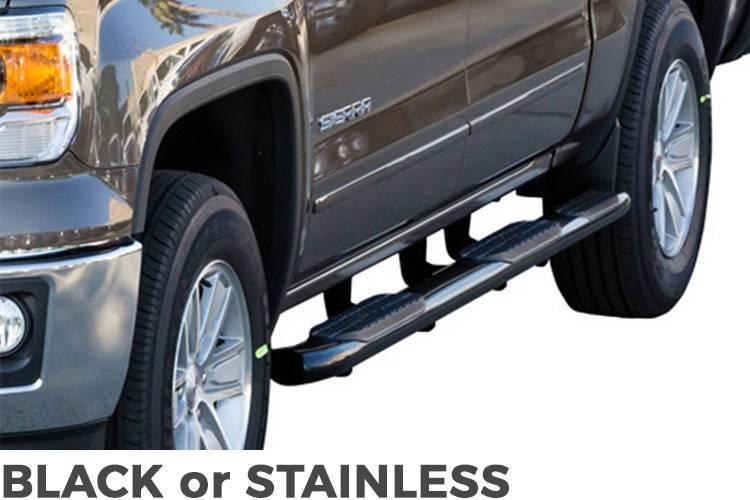 Westin - Westin Pro Traxx 5in. Oval Wheel to Wheel Side Bars #21-534645