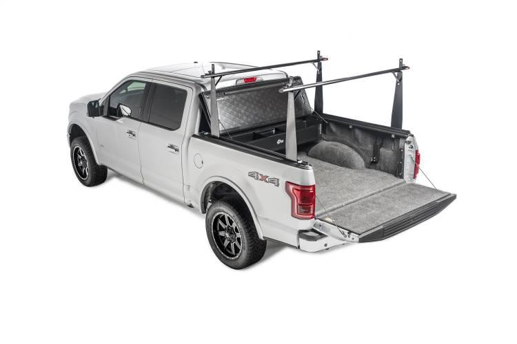 BAK - BAK Industries 26102BT BAKFlip CS Hard Folding Tonneau Cover & Truck Bed Rack Kit