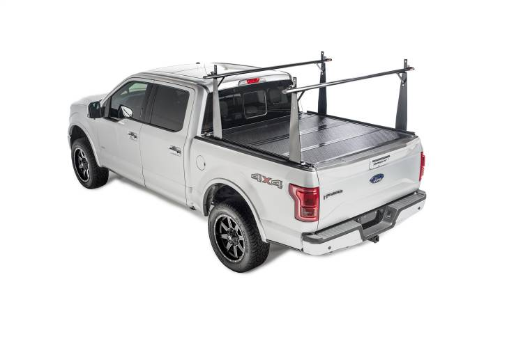 BAK - BAK Industries 26104BT BAKFlip CS Hard Folding Tonneau Cover & Truck Bed Rack Kit