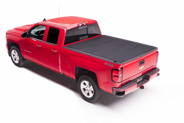 BAK - BAK Industries 448100 BAKFlip MX4 Hard Folding Tonneau Cover