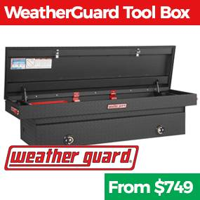 Weather Guard tool boxes at Truck Logic