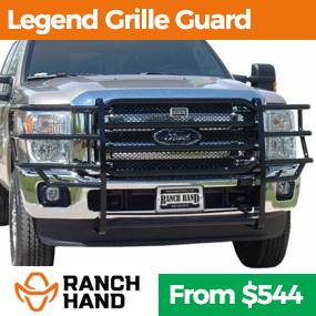 Ranch Hand grille guards at Truck Logic