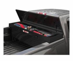 Delta Tool Boxes - Delta Tool Boxes Black Aluminum Single Lid Full Size Deep Crossover - Image 3