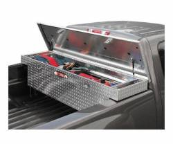 Delta Tool Boxes - Delta Tool Boxes Black Aluminum Single Lid Mid Size Low Profile Crossover - Image 2