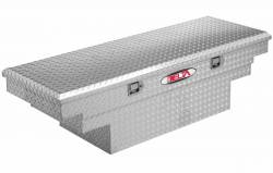 Delta Tool Boxes - Delta Tool Boxes Black Aluminum Single Lid Mid Size Low Profile Crossover - Image 6